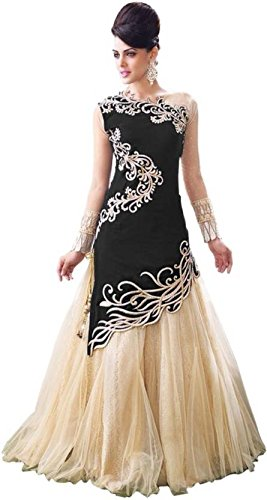 TexStile Women's Multi-Colour Semi-Stitched Lehenga Choli