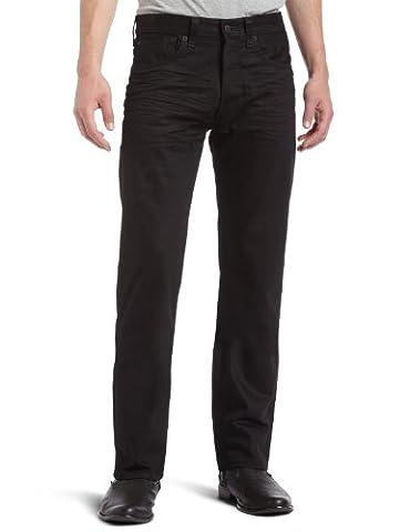 Levi's Herren Jeans 501 Original Fit, Schwarz (Black 0165), 34W / 32L