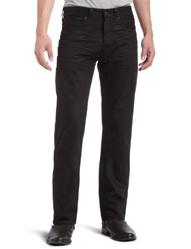 Jeans Levi Männer ' S (Levi 's Männer 501Original Fit Jeans Gr. 32W x 34L, Noir - Black (Polished Black))