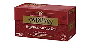Twinings English Breakfast Tea, 25 Tea Bags