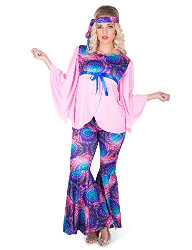 Karnival Costumes- Boho Girl Disfraz, Multicolor, Large (81230)
