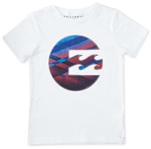 Billabong Hot Shot T-Shirt manches courtes garçon Blanc FR : 12 ans (Taille Fabricant : 12)