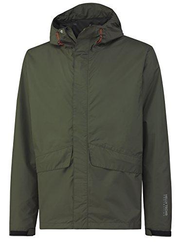 Helly Hansen Regenjacke Waterloo 70127 Wetterschutz Jacke 990 M grün