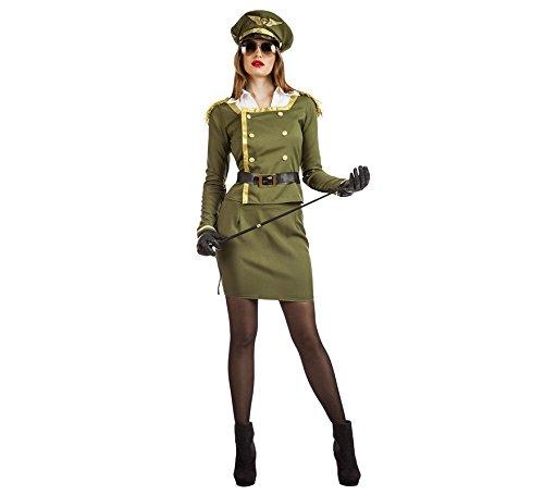 Imagen de disfraz de militar coronel para mujer