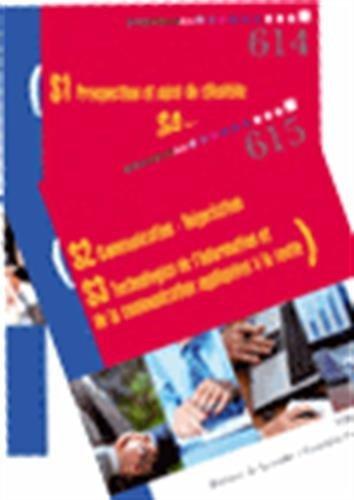 S1 Prospection et suivi de clientèle, S4 Mercatique ; S2 communication-négociation, S3 technologies de l'information et de la communication appliquées ... 1re et Tle Bac Pro Vente : Pack en 2 volumes