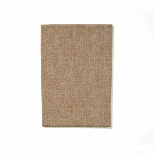 Filzgleiter Möbelgleiter als Filzzuschnitt ca. 11 cm x 15 cm x 0,5 cm dick, extra strapazierfähiger Filz – 2 Bögen; als Bodenschutz für Möbelfüße, Tischbeine, Stuhlbeine, Stühle - Made in Canada