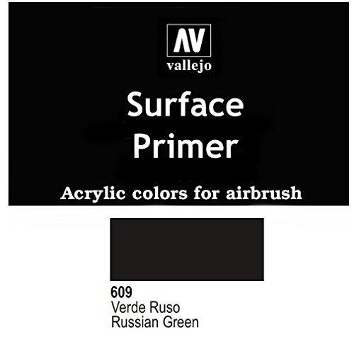 Vallejo Russian Green Acrylic Polyurethane, 17ml