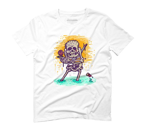iwakpeli Men's Graphic T-Shirt - Design By Humans White