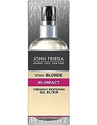 JOHN FRIEDA Sheer Blonde Huile Élixir Régénérant Hi-Impact 100 ml