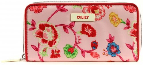 Oilily Classic Ivy Travel Wallet Light Rose (Classic Travel Wallet)