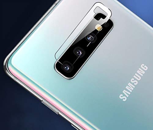SOCINY [Pack of 2] Pellicola salvaschermo per Fotocamera Resistente ai Graffi di Samsung Galaxy S10/S10 Plus, Protezione per Lenti del Telefono [in Vetro temperato] (per Samsung Galaxy S10/S10 Plus)
