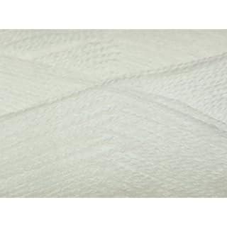 Sirdar Snuggly 2 Ply Knitting Wool/Yarn White 251 - per 50g ball