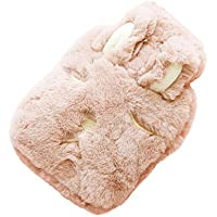 Lumanuby 1x Rosa Schlafen Hase Wärmflasche für Eltern und Kinder PP Wärmekissen mit Weich Plüsch-Bezug für Wärmespender... preisvergleich bei billige-tabletten.eu