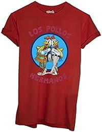 "Mush T-shirt avec imprimé ""Los Pollos Hermanos"""