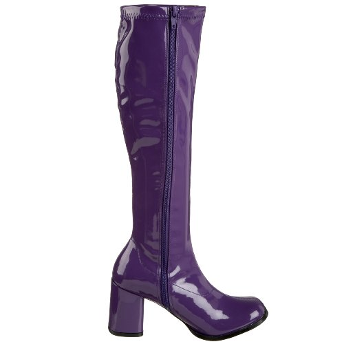 Funtasma - GOGO-300, Scarpe a collo alto da donna Purple (Purple Str Pat)