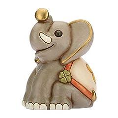 Idea Regalo - THUN® - Elefante Grande - Animali Soprammobili da Collezione - Ceramica - I Classici