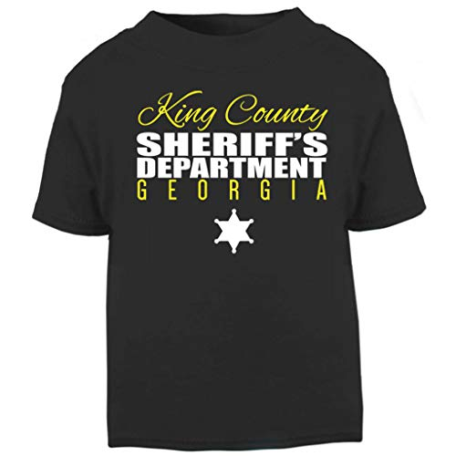Kleinkind Walking Dead Für Kostüm - King County Sheriff Department The Walking Dead Baby and Toddler Short Sleeve T-Shirt