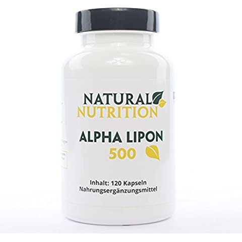 Alpha Lipon | 100% Naturale Capsule con Alpha acido lipoico, contro articolare denunce | Made in Germany