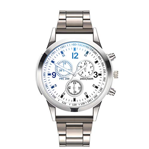 armbanduhren männer Herrenuhr mit Datum Funktion herren Luxusuhren Quarzuhr Edelstahl Zifferblatt Casual Bracele Uhr Armbanduhr Uhren Armbanduhren Herrenarmbanduh D