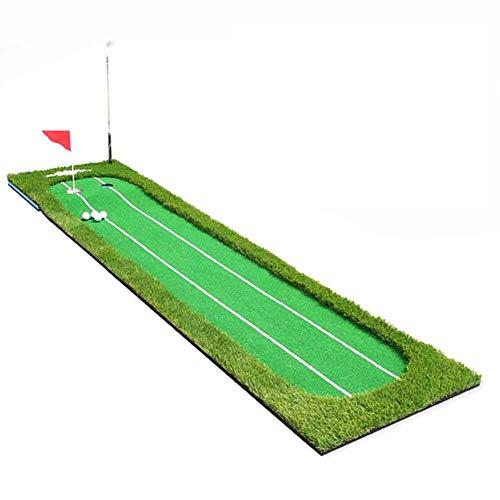 V.JUST Indoor-Golf-Training Setzt Grünen Doppel-Grundlinien-Putter-Trainer