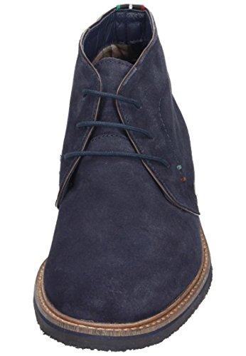 Manitu 660257, Bottes Desert courtes, doublure froide homme Bleu - Blau (dunkelblau)