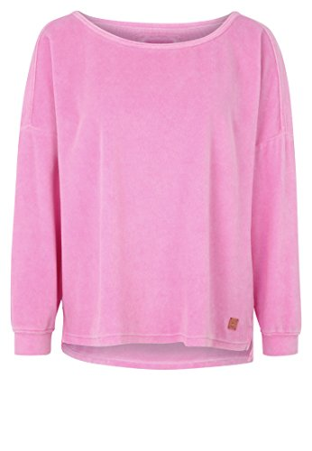 Better Rich - Sweat-shirt - Décontracté - Uni - Manches Longues - Femme rose bonbon