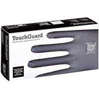 Touchguard Disposable Gloves Blue Nitrile Powder Free