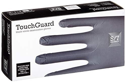 guanti monouso neri TouchGuard