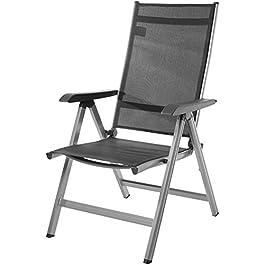 Amazon Basics Chaise d'extérieur réglable sur 5positions
