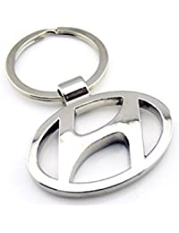 Hyundai Logo Metal Keychain | Keyring | Key Ring | Key Chain For Your Car Bike Home Office Keys | For Men Women...