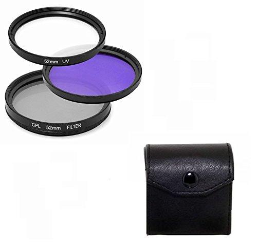 Maxsimafoto 58 mm, UV, CPL und FLD für Samsung &18-55 mm f3.5-5.6 ED, NX210, NX300 Objektiv &andere Samsung Linsen.