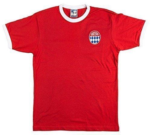 Old School Football 60er-Jahre-Retro-Bayern-München-Fußball-Trikot, L