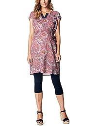 ESPRIT Maternity Dress Wvn Ss Aop R84286, Vestido para Mujer