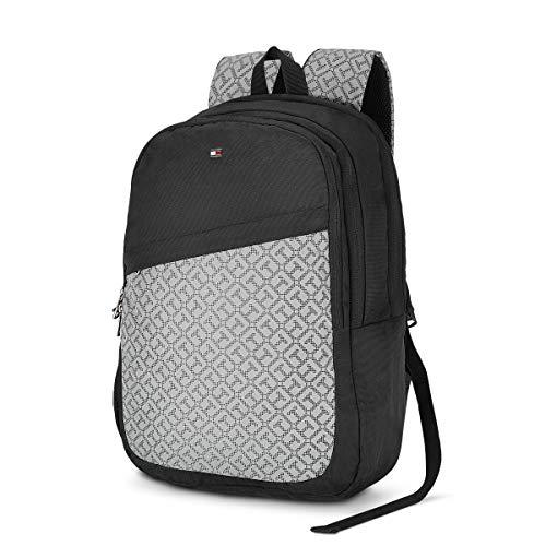 Best tommy hilfiger backpack in India 2020 Tommy Hilfiger 19.53 Ltrs Black Laptop Backpack (TH/BIKOL01VIS) Image 3