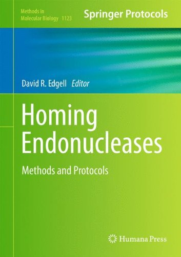 Homing Endonucleases: Methods and Protocols (Methods in Molecular Biology, Band 1123)