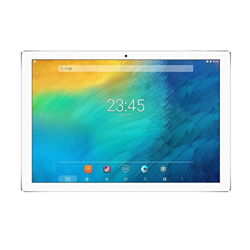 "Teclast P10 Rockchip RK3368-H Octa Core, 10.1"" Display IPS 1920*1200, Android 7.1 OS, 5MP+2MP Doppia Fotocamera, Supporto OTA OTG WiFi Tablet PC G_sensor, Bluetooth 4.0, Batteria 6000mAh, Bianco"