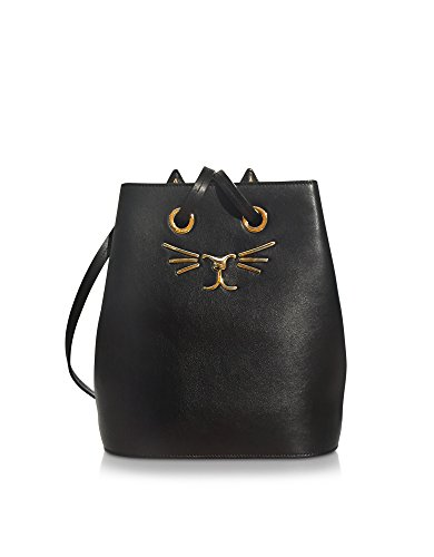 charlotte-olympia-womens-l001020001-black-leather-shoulder-bag