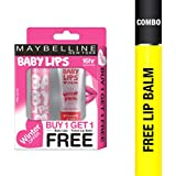 Maybelline New York Winter Promo, Pink Lolita, 4g with Free Strawberry Crush, 9ml