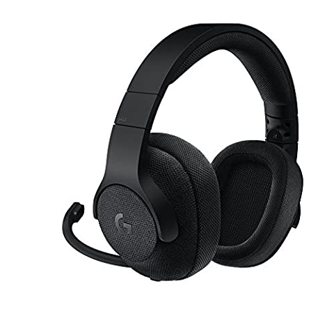 Logitech G433 Kabelgebundene Gaming-Kopfhörer (7.1 Surround Sound, für PC, Xbox One, PS4, Switch, Mobiltelefon) Schwarz