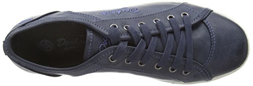 Dockers by Gerli 27ch247-620670, Sneakers basses femme Bleu (Dunkelblau)