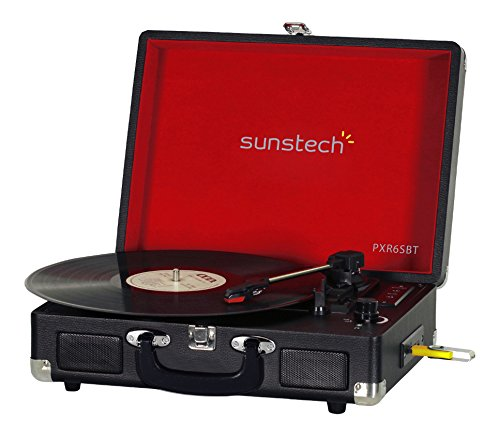 Sunstech-PXR6SBTBK-Giradiscos-porttil-Bluetooth-USB-MP3