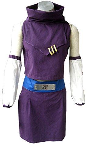 Mtxc Women's Naruto Ino 1. Cosplay Kostüm Yamanaka