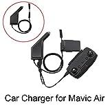 siyangmy Intelligente Auto Ladegerät für DJI Mavic Air Drone Batterie Fernbedienung mit USB Ladeanschluss und Batterie Ladeanschluss 2in1