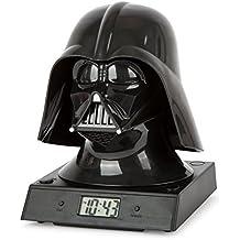 Zeon - Despertador proyector, diseño Star Wars 07468 - Star Wars: Reloj despertador Darth Vader