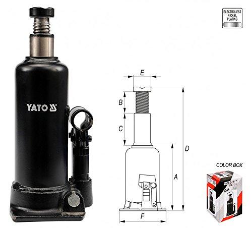 5 T Hydraulik Stempelwagenheber Flaschenwagenheber