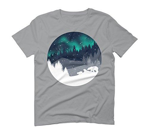 Stardust Horizon Men's Graphic T-Shirt - Design By Humans Opal