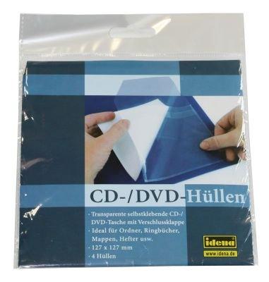 Preisvergleich Produktbild CD / DVD Hülle Transparent 4 Stück