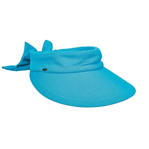 Scala femme bonnet chapeau anti-uV uPF 50 + Bleu lagon