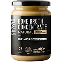 Meadow & Marrow Beef Bone Broth- Natural Flavour- 10 x More Amino Acids 260 grams