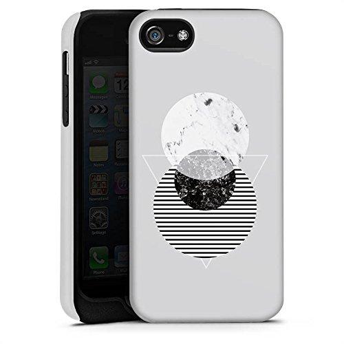 Apple iPhone X Silikon Hülle Case Schutzhülle Grafik Art Abstrakt Tough Case matt